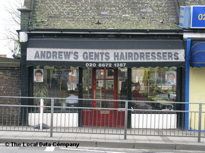 "Andrew""s Gents Hairdressers London"