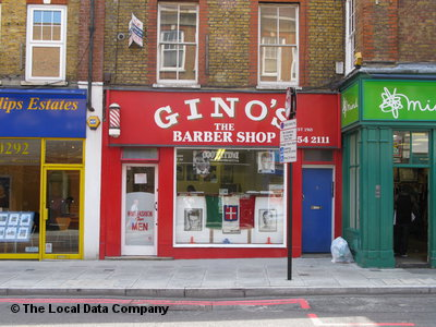 "Gino""s The Barber Shop London"