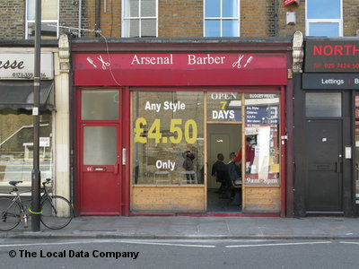 Arsenal Barber London