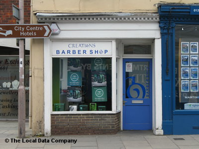 Creations Barber Shop Chichester