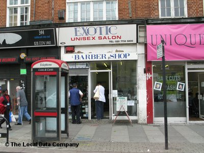 Exotic Unisex Salon London