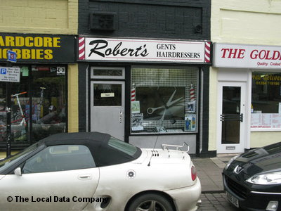 "Roberts"" Gents Hairdressers Bury St. Edmunds"
