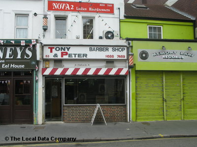 Tony & Peter Barber Shop Croydon