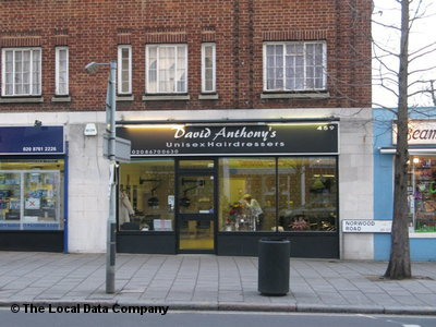 "David Anthony""s Unisex Hairdressers London"