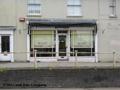"Allan""s Hairdressing Canterbury"