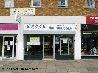 Savas Gents Hairdresser London