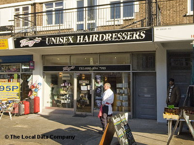 "Tony""s Unisex Hairdressers Twickenham"