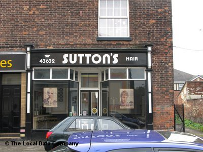 "Sutton""s Hair Dressers Northwich"
