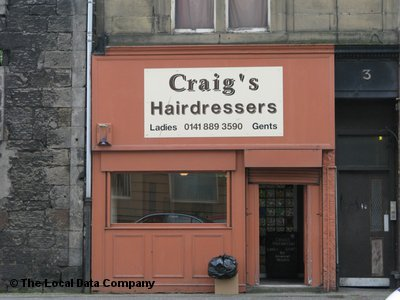 "Craig""s Hairdressers Paisley"