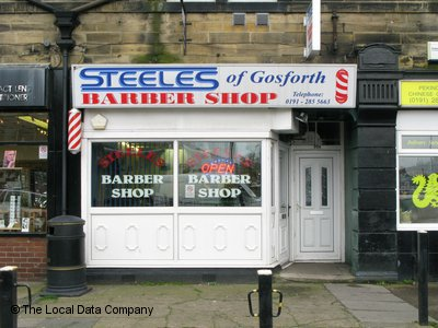Steeles of Gosforth Barber Shop Newcastle