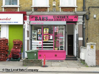 "Bab""s Unisex Hair & Beauty Saloon London"