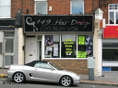 149 Hair Design London