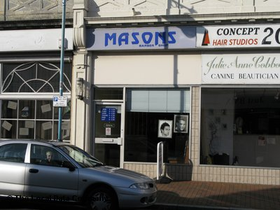 Masons Barber Shop Gosport