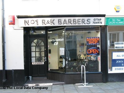 No 1 R & K Barbers Crawley