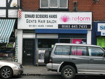 Edward Scissors Hands Manchester
