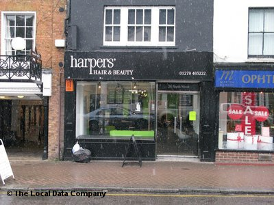 "Harpers Hair & Beauty Bishop""s Stortford"