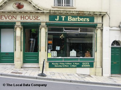 J T Barbers Frome