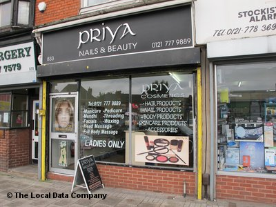Priya Nails & Beauty Birmingham