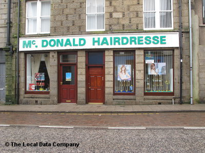 McDonald Hairdresser Fraserburgh