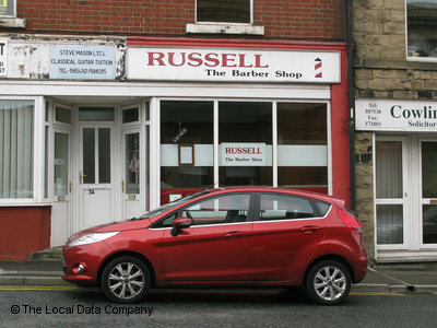 Russell The Barber Shop Mexborough