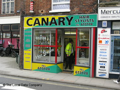 W Canary Barbers Norwich