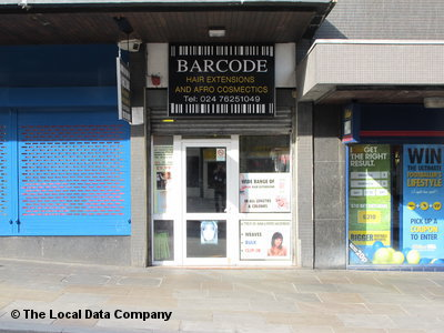 Barcode Hair Extensions & Afro Cosmetics Coventry
