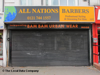 All Nations Barbers Birmingham