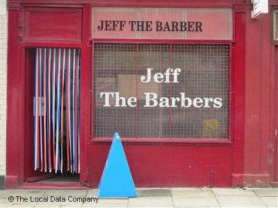 Jeff The Barbers Manchester