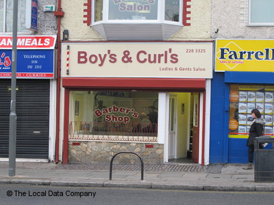 Boys & Curls Liverpool