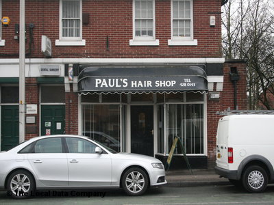 "Paul""s Hair Shop Cheadle"
