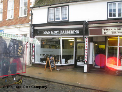 Man & Boy Barbering Faversham