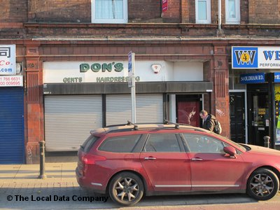 Dons Hairdressing Manchester