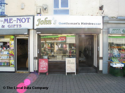 "John""s Gentleman""s Hairdressers Stockport"