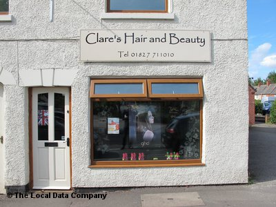 "Clare""s Hair & Beauty Atherstone"