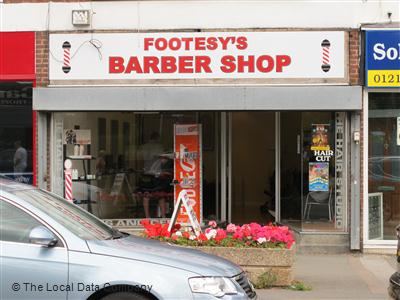 "Footsey""s Barber Shop Birmingham"