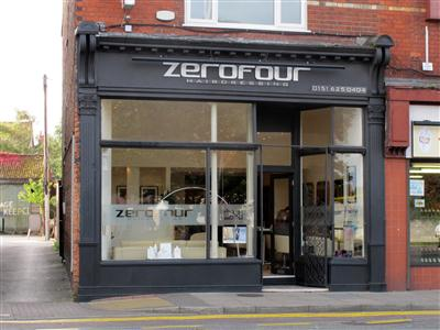 Zerofour Hairdressing Wirral