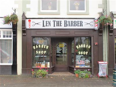 Len The Barber Holywell