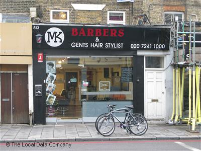 MK Barbers London