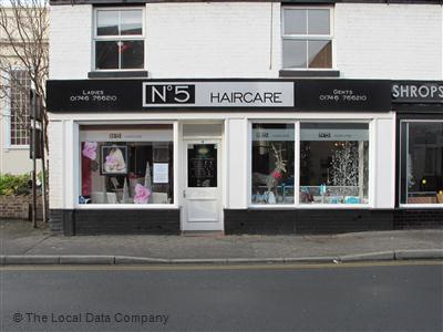 No 5 Haircare Bridgnorth