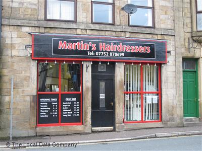 "Martin""s Hairdressers Todmorden"