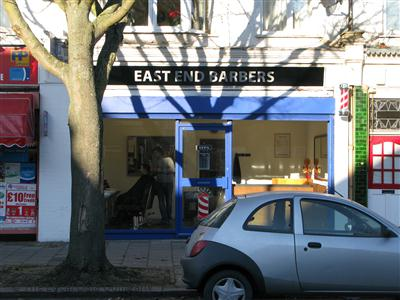 East End Barbers London
