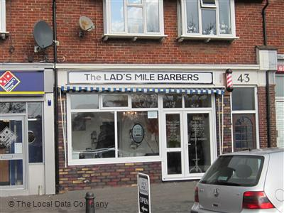 "The Lad""s Mile Barbers Brighton"