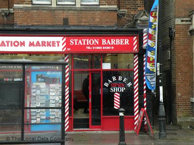 Station Barbers Oxford