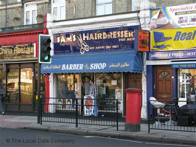 "Sam""s Hairdresser London"
