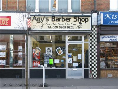"Agy""s Barber Shop London"