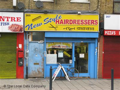 New Style Hairdressers London