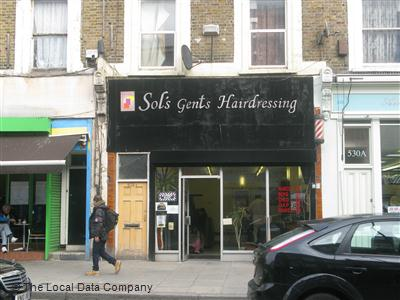 "Sol""s Gents Hairdressing London"