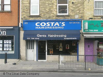 "Costa""s Hairdressing London"