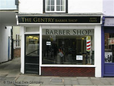 The Gentry Barber Shop Hertford