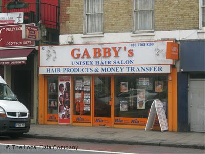 "Gabby""s Unisex Hair Salon London"